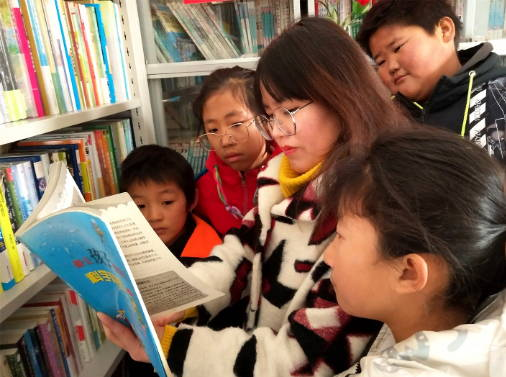 """郯城:""""希望书屋""""让农村孩子读好书有希望"""